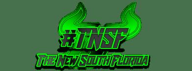 #TNSF 2020 The New South Florida Bulls Football Logo