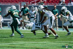 62 - USF Spring Game 2021 RB Yasias Young Jayden Curry Dwayne Boyles DRG06689