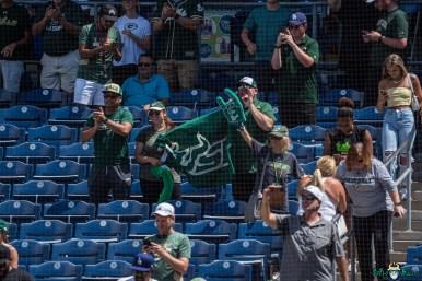 132 USF vs UCF Baseball Fans Celebrating 2021 AAC Championship DRG00979