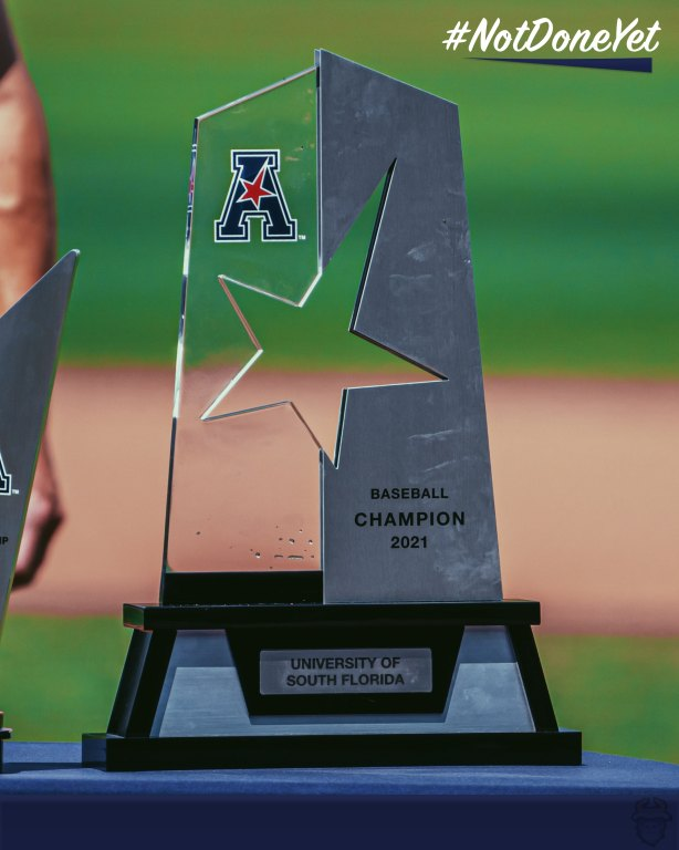 2021 AAC Championship Trophy