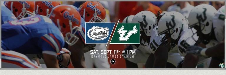 2021 Florida Gators vs. USF Bulls Football Gameday Matchup