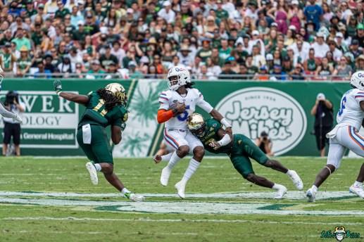 117 Florida vs USF 2021 - Vincent Davis Dwayne Boyles Emory Jones DRG02128