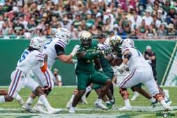 119 Florida vs USF 2021 - Blake Green Emory Jones DRG02151