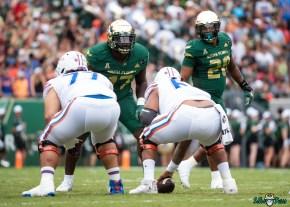 126 Florida vs USF 2021 - Blake Green Demaurez Bellamy DA