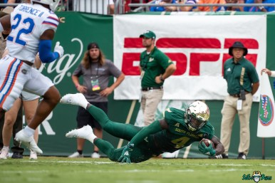 143 Florida vs USF 2021 - Omarion Dollison DA