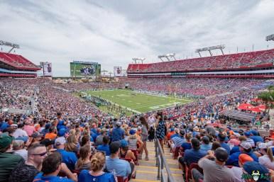 214 Florida vs USF 2021 - Raymond James Stadium Arial Background Image 2 DA