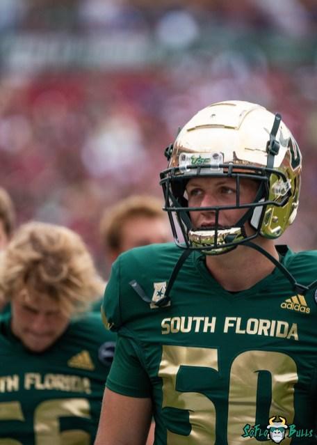 37 Florida vs USF 2021 - Bryce Bernard DA