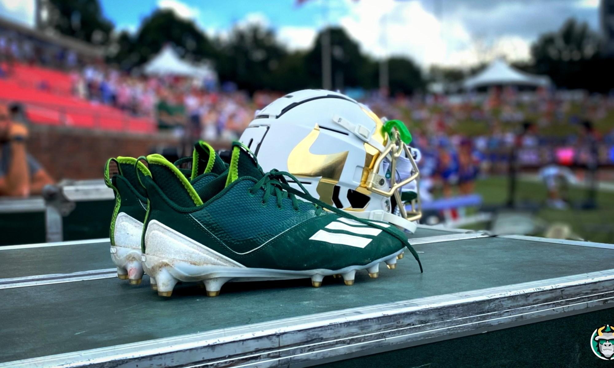 USF Football Helmets and Cleats vs. SMU 2021