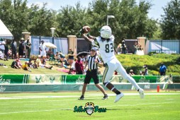 59 - USF Spring Game 2018 - USF WR Jernard Phillips by Dennis Akers | SoFloBulls.com (4235x2827)