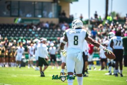 60 - USF Spring Game 2018 - USF WR Tyre McCants by Dennis Akers | SoFloBulls.com (5394x3601)