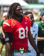 71 - USF Spring Game 2018 - USF WR Ryeshene Bronson by Dennis Akers - SoFloBulls.com (4016x5020)