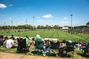 78 - USF Spring Game 2018 - USF Fans Watching at Corbett Stadium by Dennis Akers - SoFloBulls.com (6016x4016)