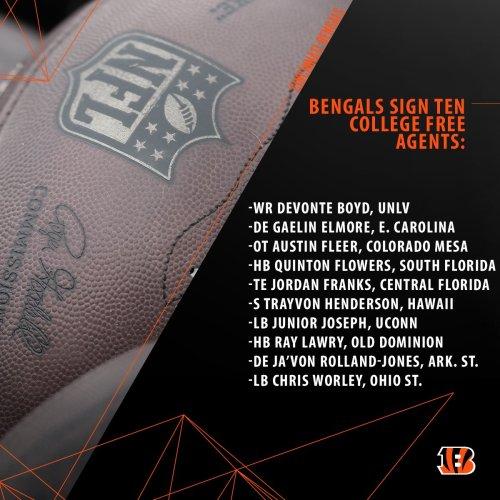 Cincinnati Bengals Sign UDFA - HB Quinton Flowers (1200x1200)