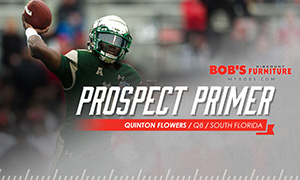 Green Bay Packers Prospect Primer - QB Quinton Flowers, South Florida (300x180)