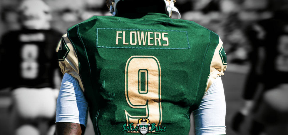 🎥 SoFloBulls.com 2017 USF Football Highlights Series: #Glock9 QB Quinton Flowers Facebook Post Image B&W by Matthew Manuri (1200x628)