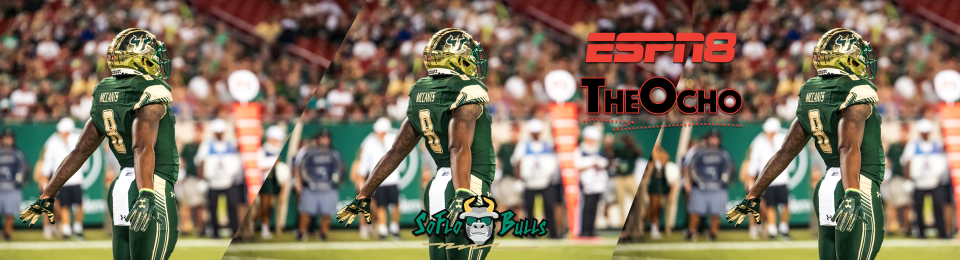 SoFloBulls.com 2017 USF Football Highlights Series: ESPN8 The #Ocho WR Tyre McCants Article Featured Image by Matthew Manuri | SoFloBulls.com (1920x520)