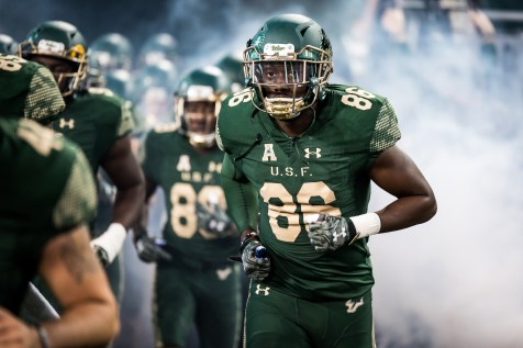 28 - Navy vs. USF 2016 - USF WR Stanley Clerveaux by Dennis Akers   SoFloBulls.com (5075x3388)