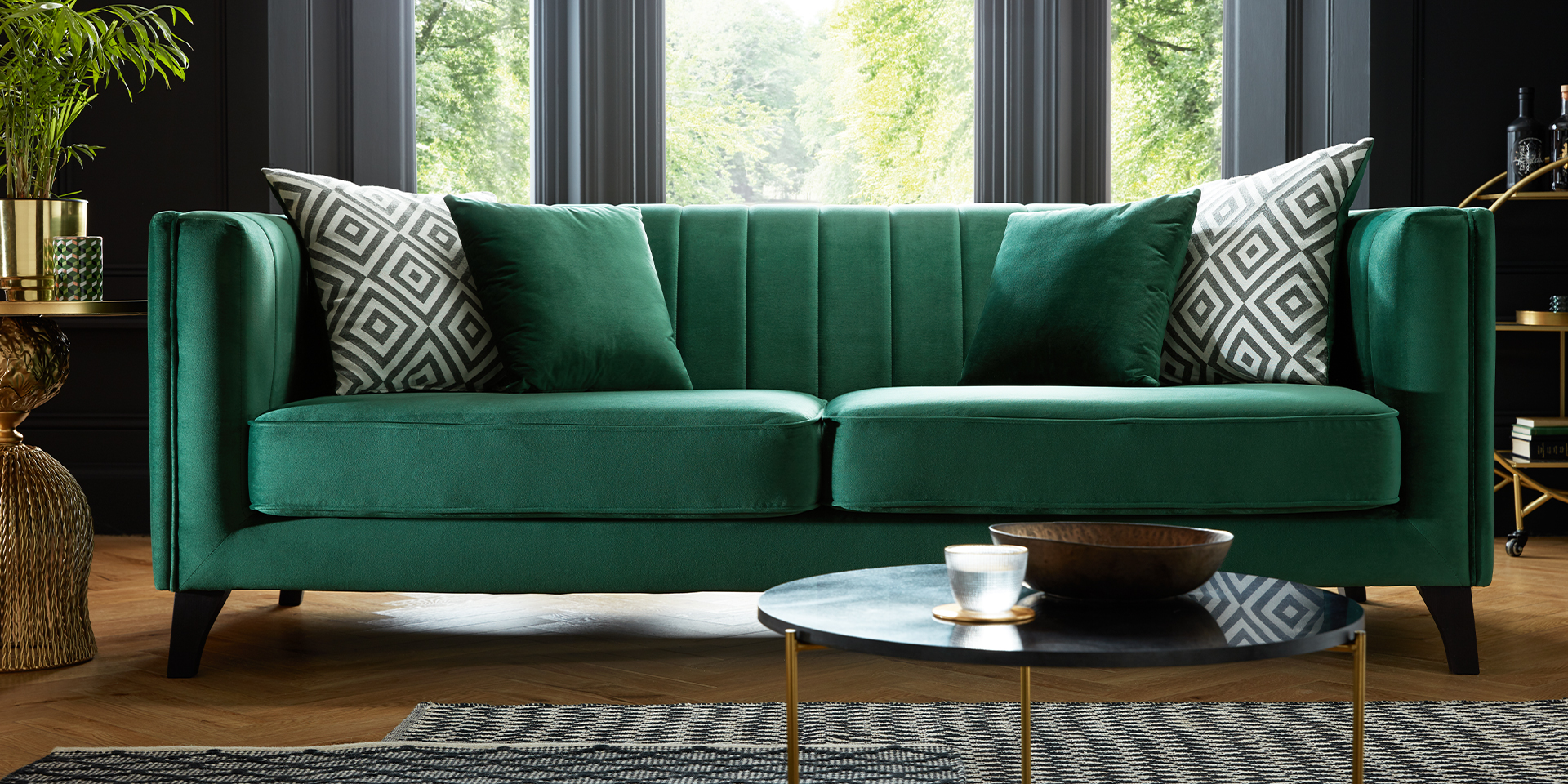 The Green Edit Our Top 5 Favourite Green Sofas Sofological