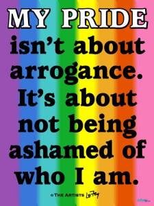 MY PRIDE'S NOT ARROGANCE