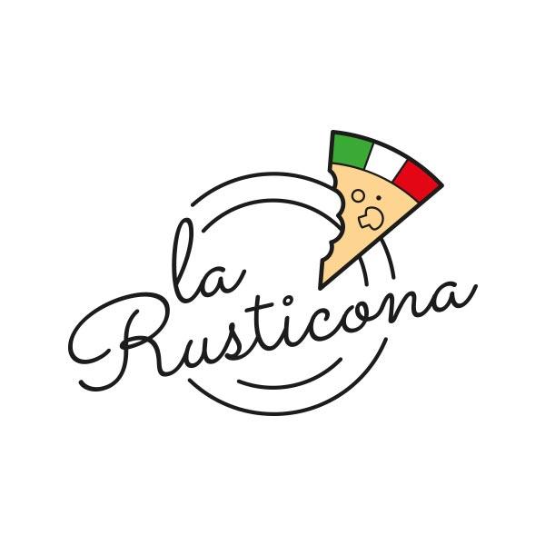 Logo Pizzería La Rusticona
