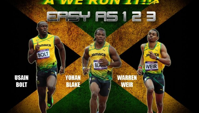 Jamaica Gets 123 in 200m Final