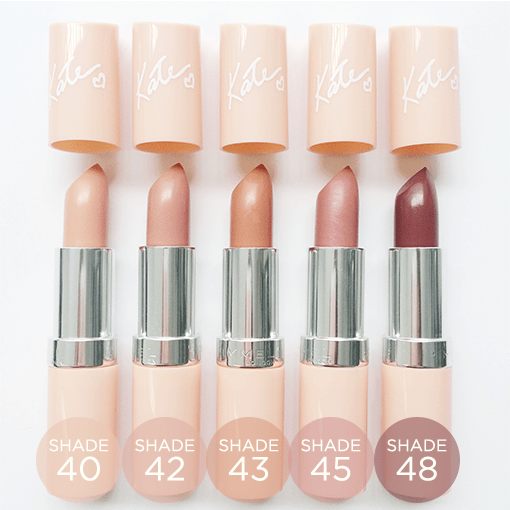 Rimmel Kate| Nude Lipsticks
