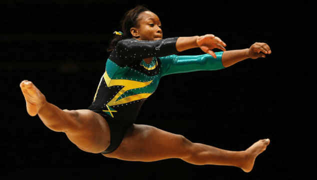 Toni-Ann Williams Jamaican Gymnast