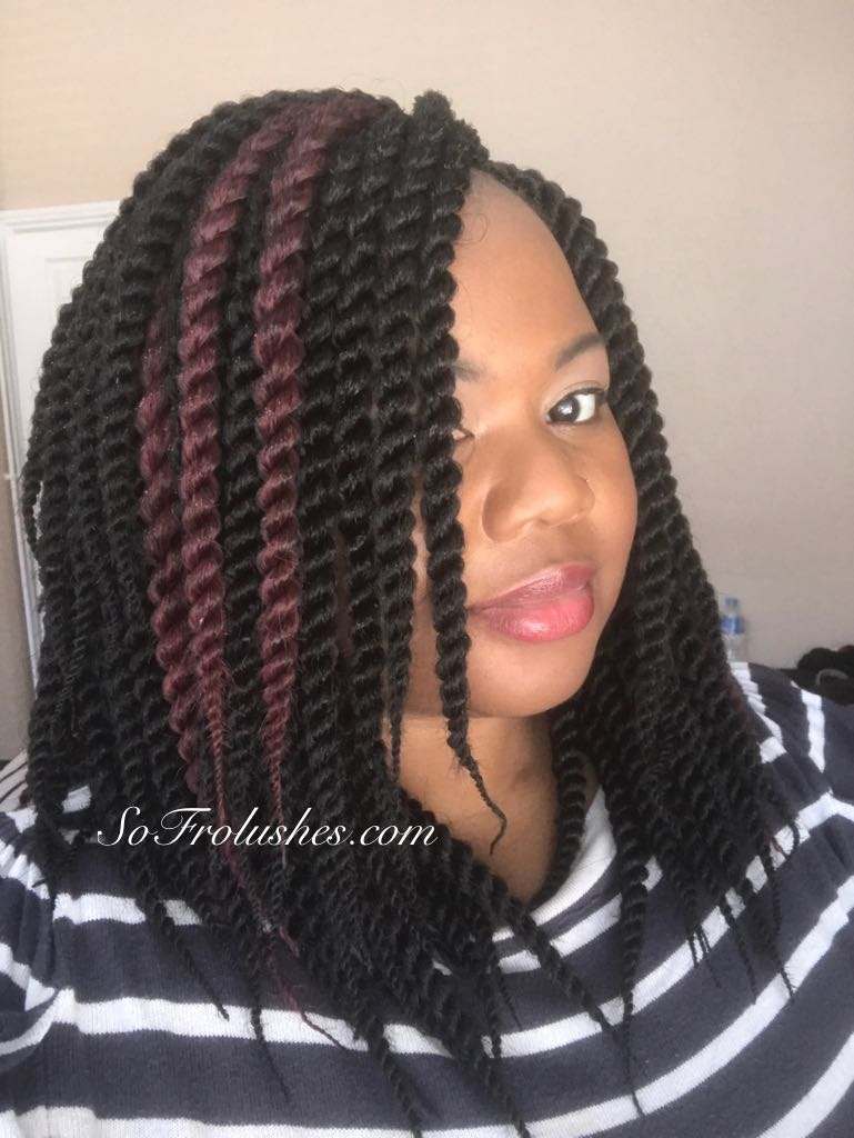 Crochet Twists With a Pop of Colour