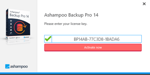 Ashampoo Backup Pro 14 License Key Full Version