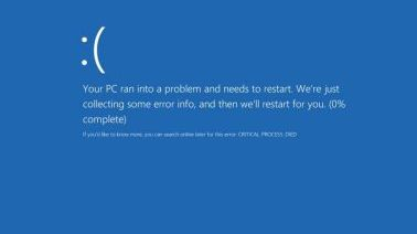 Fix Critical Process Died BSOD Error in Windows