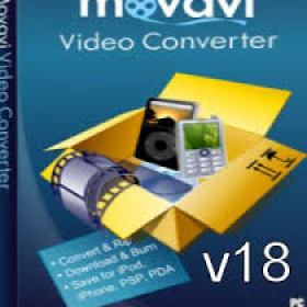 Movavi Video Converter 18 Multilingual Full + Crack