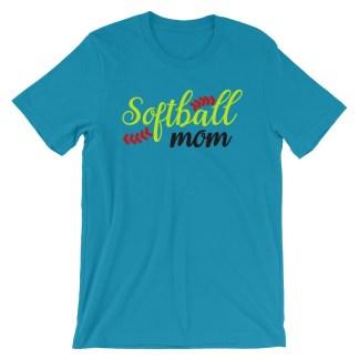 Softball Mom Fastpitch Shirt
