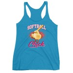 Softball Chick Fastpitch Women's Tank Top