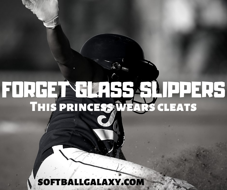 Forget Glass Slippers Cleats Softball Meme