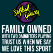 Softball Galaxy Family Owned