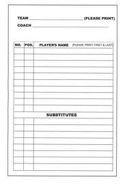 Making the Softball LineUp