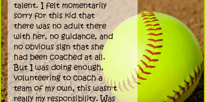 Fastpitch Softball – Jackie's Story Part 1