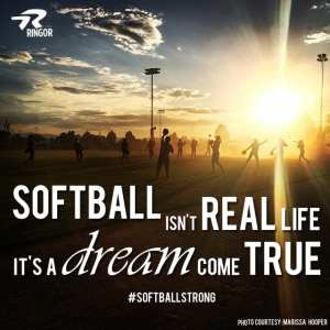A Softball Love Story | Softball is For Girls