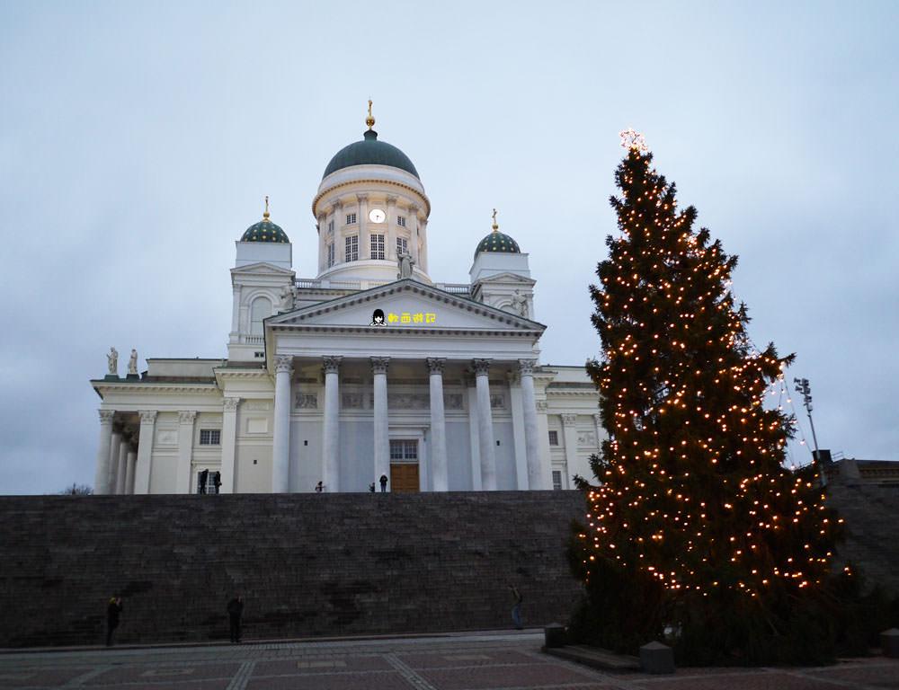 芬蘭赫爾辛基景點》赫爾辛基大教堂&烏斯佩斯基大教堂●芬蘭赫爾辛基三大教堂 赫爾辛基經典必看景點 芬蘭自由行/芬蘭自助