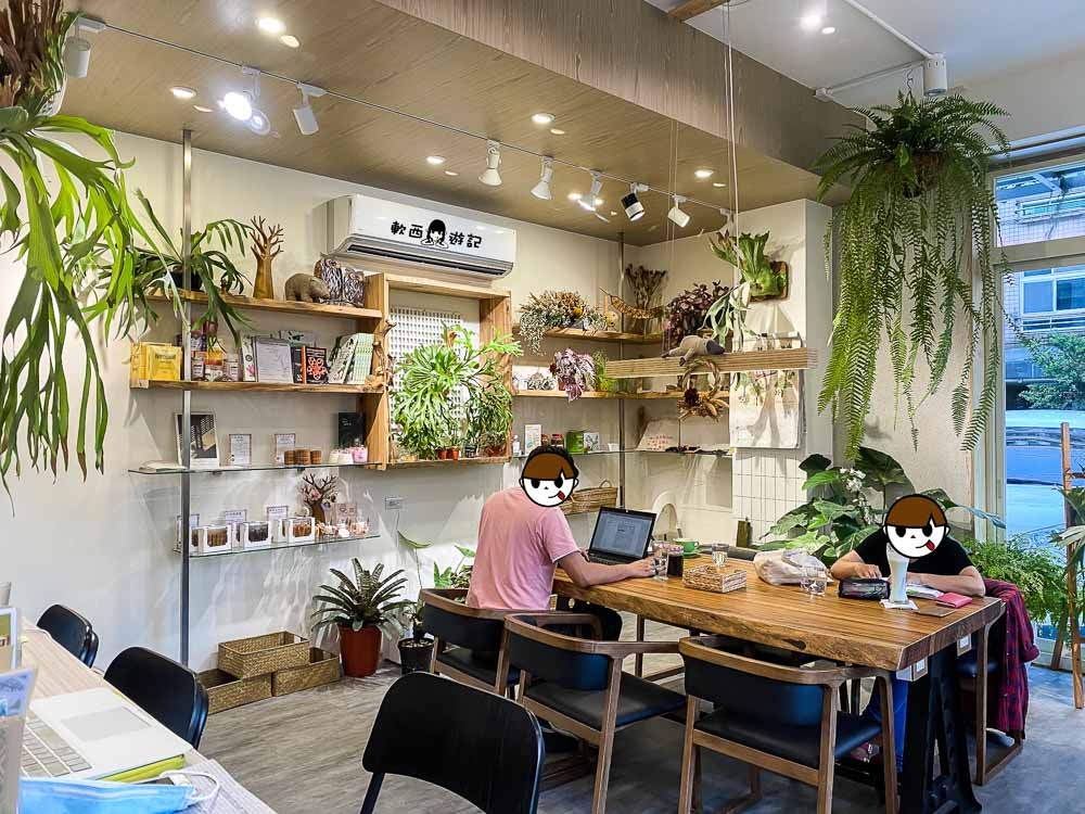 桃園藝文特區咖啡廳推薦》書帶蕨Vittaria Café●植物都系金ㄟ!綠意盎然植物咖啡廳 桃園城市中的植物綠洲