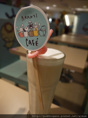 [食記]台北中山 阿朗基咖啡Aranzi cafe 新光三越南西店 可愛布置融化人心