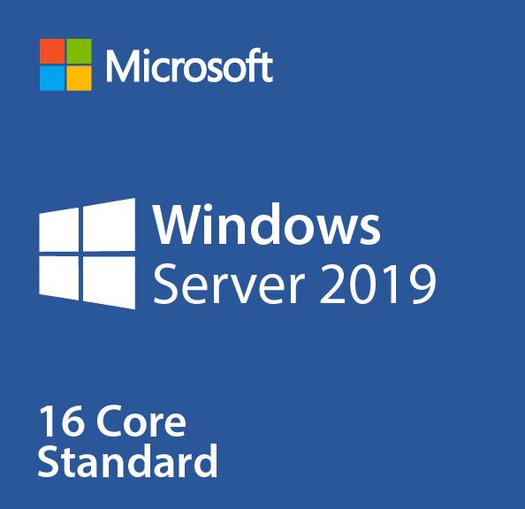 Buy Microsoft Windows Server 2019 Standard (16-Core) at Best Price