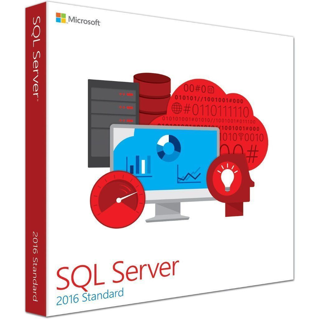 Microsoft SQL Server 2016 Standard Edition for Windows   Soft Deal USA
