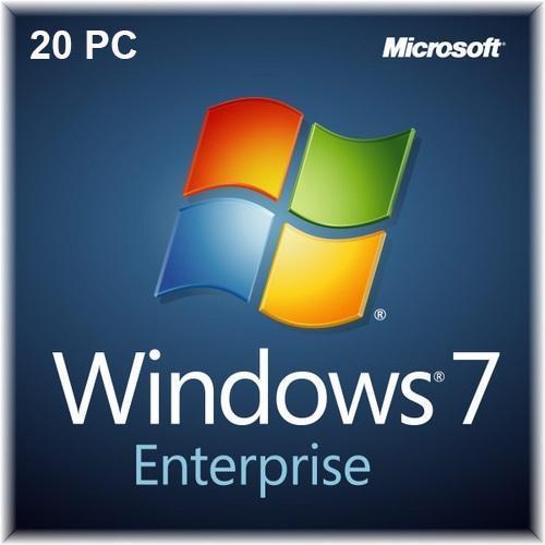 Buy Windows 7 Enterprise 20 PC Devices | 32 Bit & 64 Bit Windows