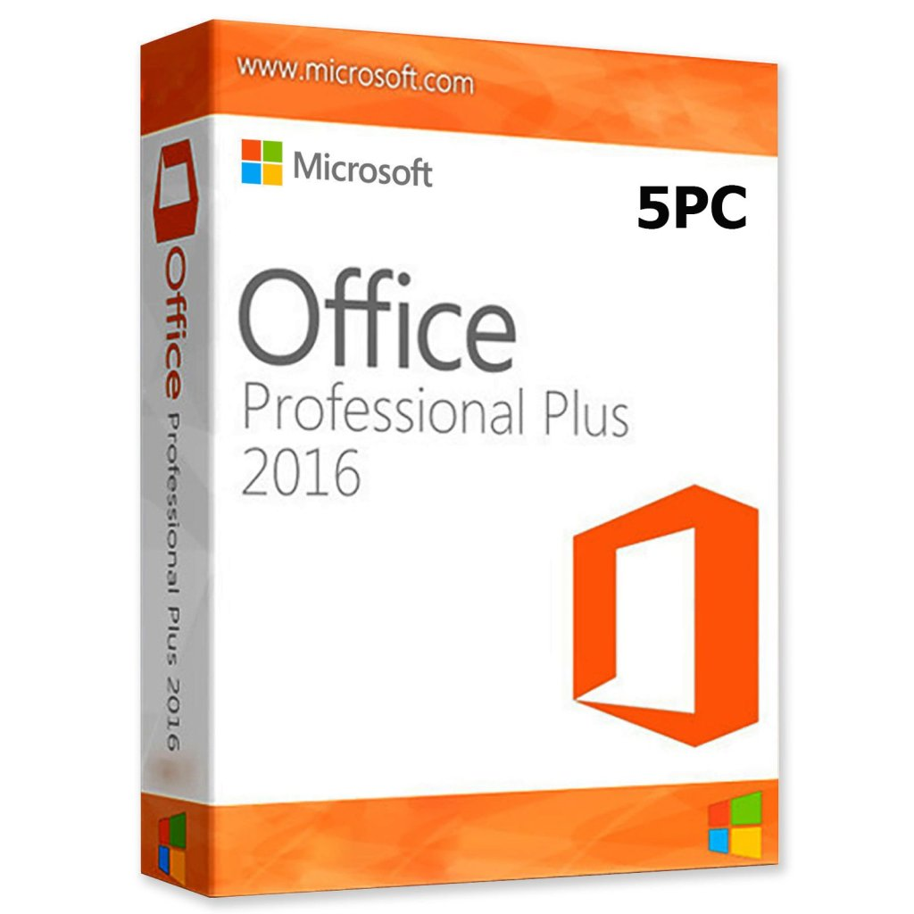Buy Microsoft Office 2016 Professional Plus at Best Price   5PC-license