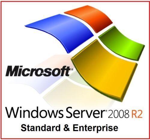 Windows Server 2008 R2 Standard & Enterprise | 64 Bit Windows Server