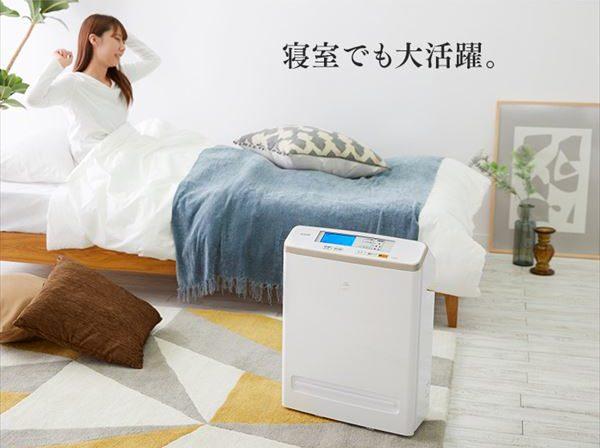 アイリスオーヤマモニター付き空気清浄機