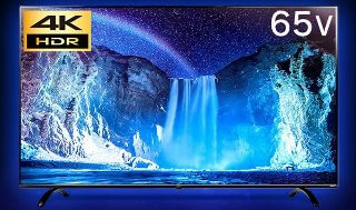 LUCAシリーズ 65V型 4K対応液晶テレビ