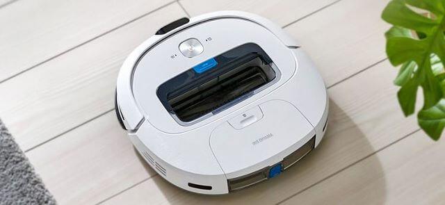 IRIS OHYAMA(アイリスオーヤマ)ロボット掃除機 IC-R01-W