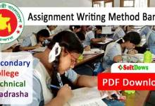 Standard Assignment Writing Format Bangla - PDF Download
